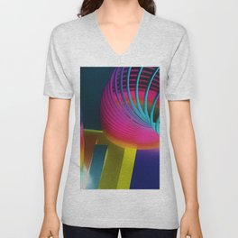 Slinky Art Unisex V-Neck