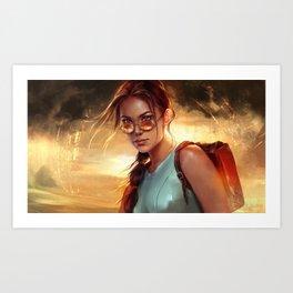 Lara Croft: Tomb Raider Art Print