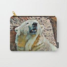 Toony Polar Bear Carry-All Pouch