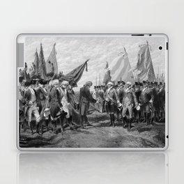 Surrender Of Cornwallis At Yorktown Laptop & iPad Skin