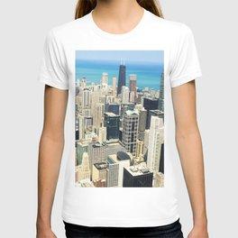 Chicago Buildings Color Photo T-shirt