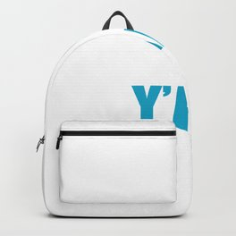 Shalom Y'All Jew Or Religious Leader Gift Backpack