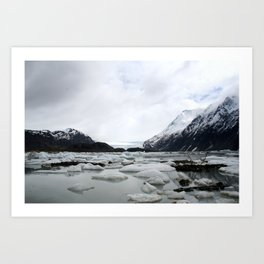 Icy Lake - Homer, AK Art Print