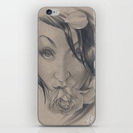 Draven Rose iPhone Skin