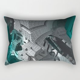 Fractaled Rectangular Pillow