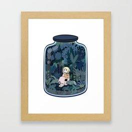 The jar. Framed Art Print