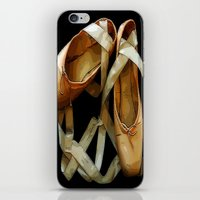 ballet iPhone & iPod Skins featuring Ballet by Müge Başak