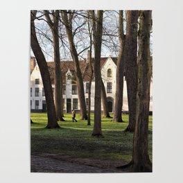 Belgium, Monastery Poster