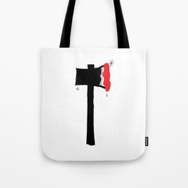 Red Hatchet Tote Bag