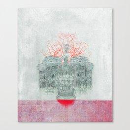 Chandelier Dress Canvas Print