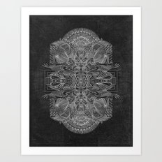Etched Offering Art Print