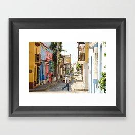 Cartagena Framed Art Print