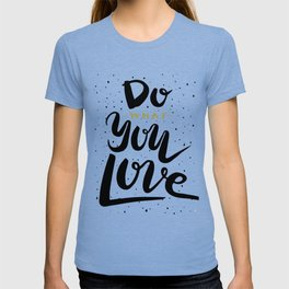 Do what you love illustration T-shirt
