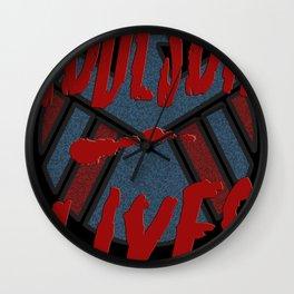 Coulson Lives - Badge Wall Clock