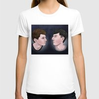 danisnotonfire T-shirts featuring Dan and Phil by Greenteaelf