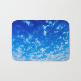 Whispy Clouds Bath Mat