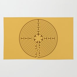 Chartres Labyrinth Rug