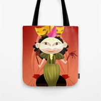 theater Tote Bags featuring theater by ErsanYagiz