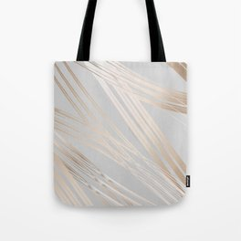 Gradient and Lines Tote Bag