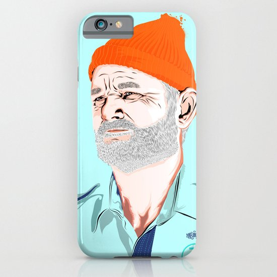 Doc Zissou iPhone & iPod Case