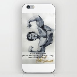Arnold the ecologist iPhone Skin