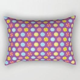 Peppermint Purple Rectangular Pillow