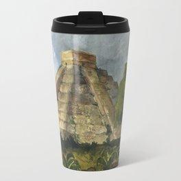Mayan Pyramid Travel Mug
