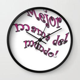 major mama del monde Wall Clock