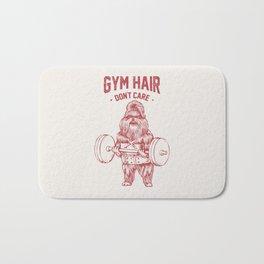 Gym hair don't care shih tzu Bath Mat