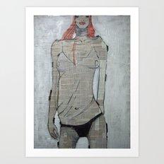 paper wafe Art Print