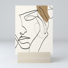 Abstract Face Mini Art Print