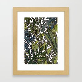 The Greenhouse Framed Art Print