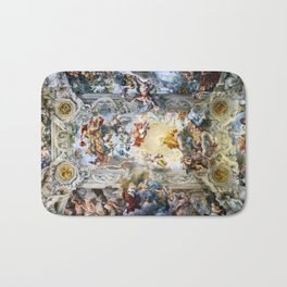 Allegory of Divine Providence and Barberini Power by Pietro Cortona (1639) Bath Mat