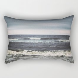 Crashing Rectangular Pillow