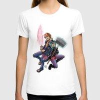 scott pilgrim T-shirts featuring Scott & Ramona by MarioRojas