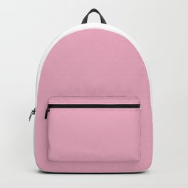 Half Pink White Backpack