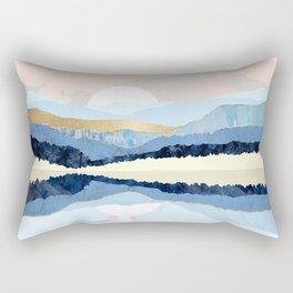 Winter Reflection Rectangular Pillow