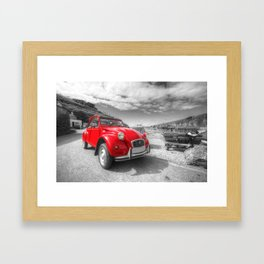 Cornish 2CV  Framed Art Print
