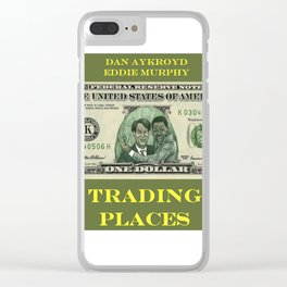 Trading Places Clear iPhone Case