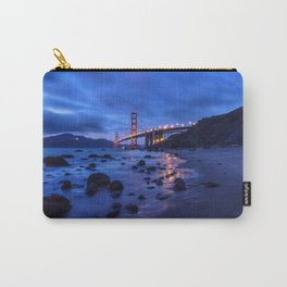 Golden Gate Bridge During Blue Hour Carry-All Pouch