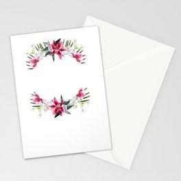 garden boss gardener flowers retirement gift Stationery Cards