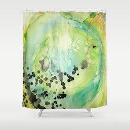 Blow Shower Curtain