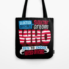 Voter Suppression Tote Bag