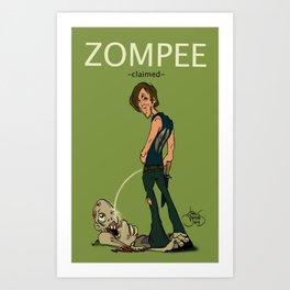 Zompee Art Print