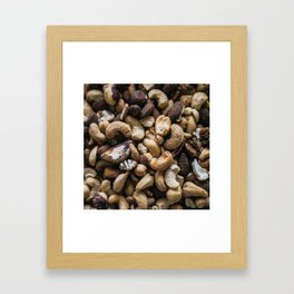 Mixed Nuts Framed Art Print