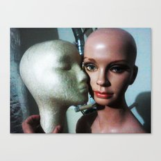 SENSUAL BALDNESS OF BEING Canvas Print