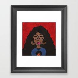 Bad & Boujee Daria Framed Art Print