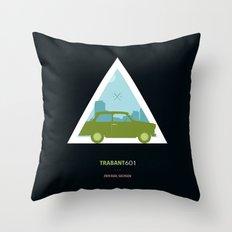 Icotrip - Trabant601 Throw Pillow