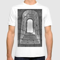 Medieval Window MEDIUM Mens Fitted Tee White