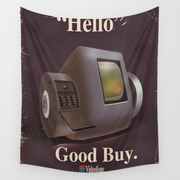 Vintage Videofone ad ( Total Recall 1990 fan art) Wall Tapestry